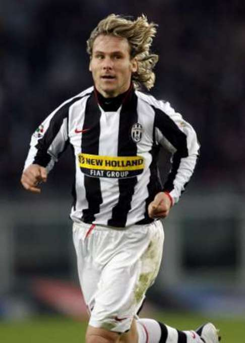 Pavel Nedved run