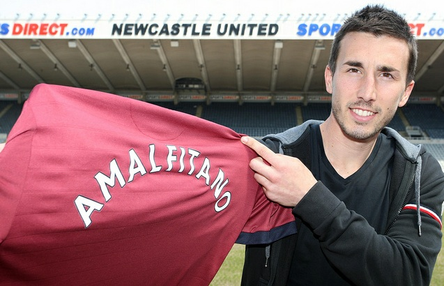 Romain-Amalfitano Newcastle from Reims